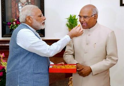 Commander-in-chief Ram Nath Kovind, and humour
