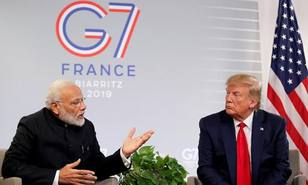 Now, Trump says India, Pakistan can handle Kashmir dispute on their own