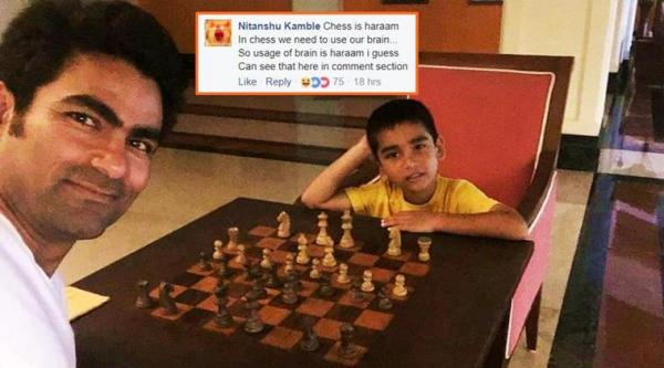 Mohammad Kaif trolled on social media for committing 'sin' of playing chess
