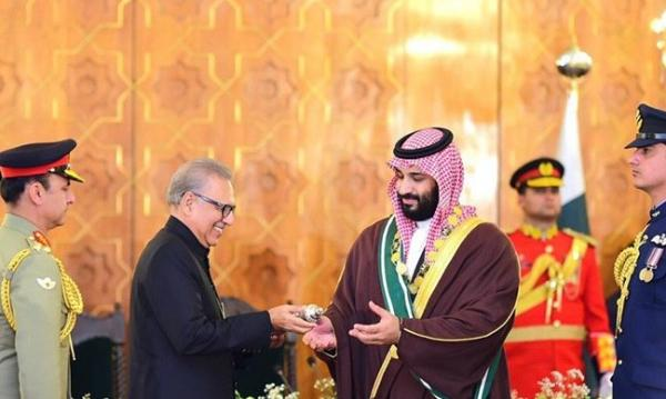 Pakistan confers highest civilian award Nishan-e-Pakistan on Saudi Crown Prince