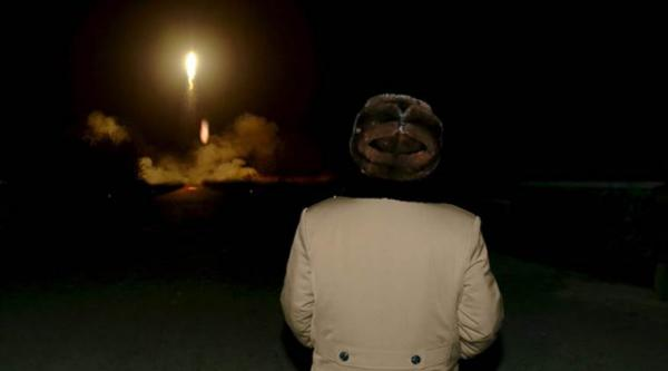 North Korea fires three ballistic missiles in show of force