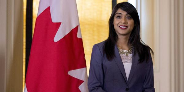 Sikh MP becomes Canada's 1st woman House leader