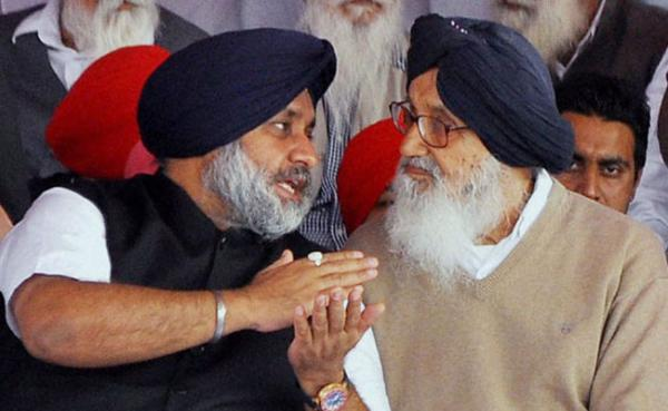 Parkash and Sukhbir Singh Badal to contest from Lambi and Jalalabad respectively