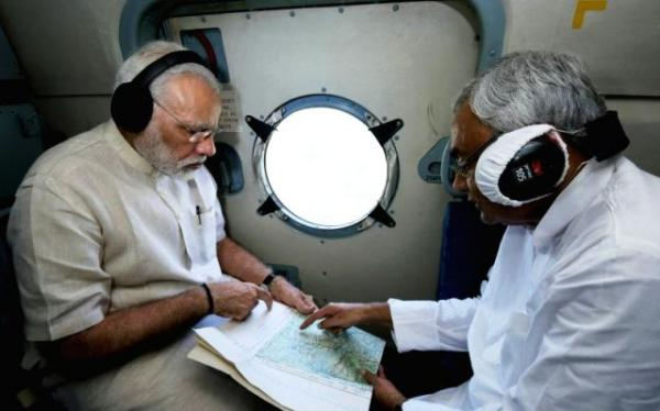 PM Modi announces Rs 500 crore relief for flood-hit Bihar