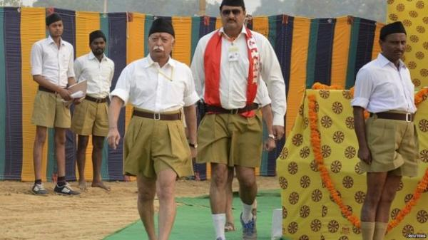 Image Makeover : RSS Shuns Shorts, Full Pants In