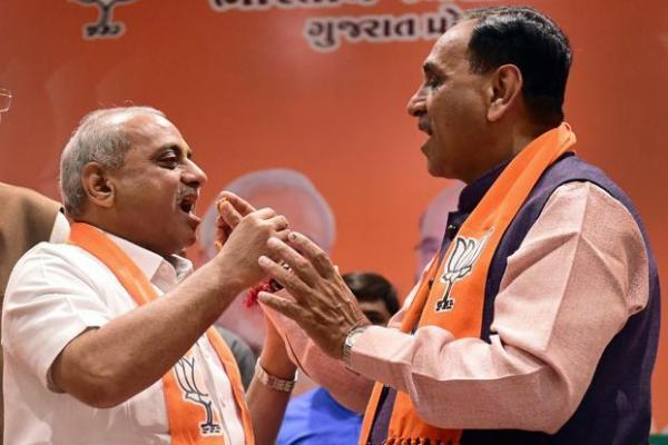 No surprises: Vijay Rupani re-elected as Gujarat CM