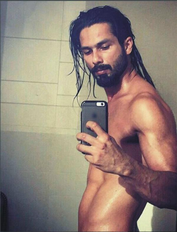 Shahid Kapoor's look for the crime thriller 'Udta Punjab'?