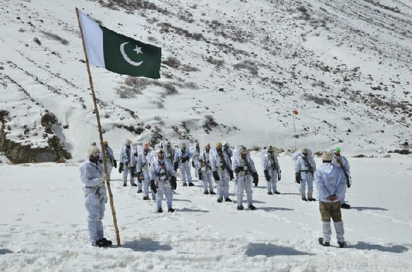 A letter from Siachen but from across the border