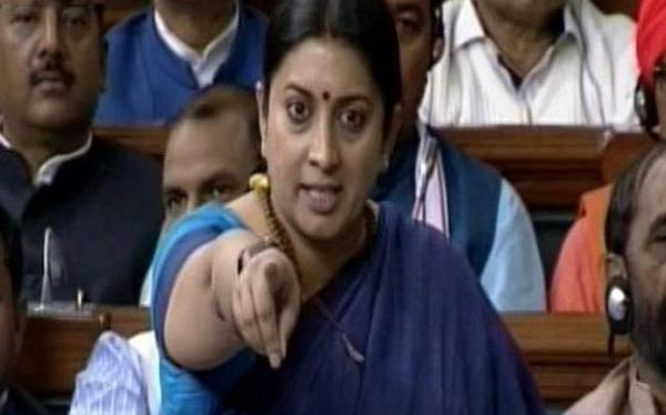 Smriti's statement Smashed by Doctor