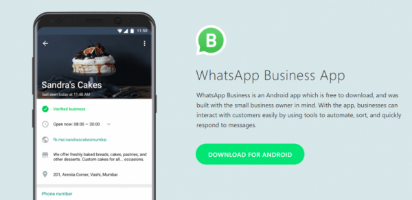 WhatsApp Business launched in India for Android users