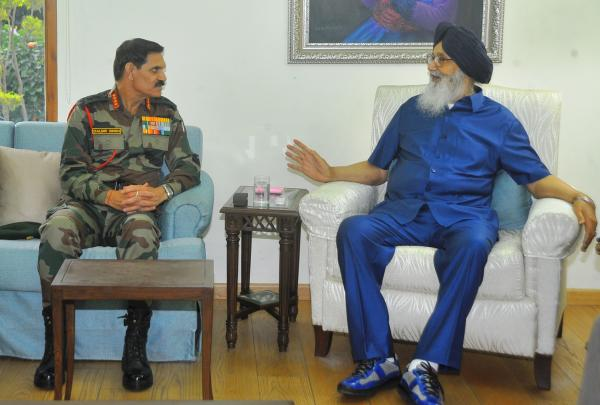 Badal seeks rare war artefacts from Army Chief for War Heroes Memorial at Amritsar