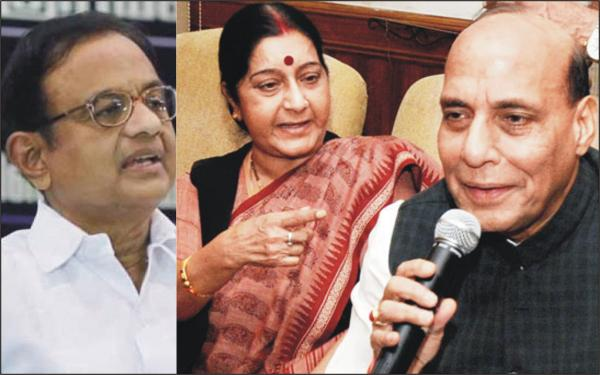CHIDAMBARAM IS WRONG – The cry of Sushma Swaraj and the silence of Rajnath Singh