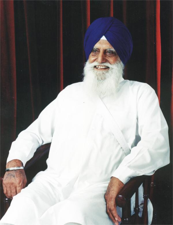 Jathedar Gurcharan Singh Tohra as President of the SGPC