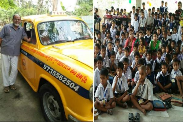 Once forced to quit education & beg, this cabbie now runs two schools and an orphanage