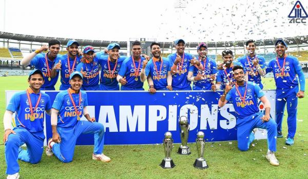 India pips Bangladesh by five runs to lift seventh title